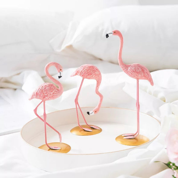 Car Dashboard Decoration - Pink Flamingo Interior Decorative Decor