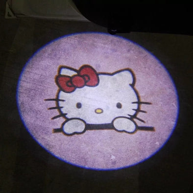 MINI COOPER Welcome LED Door courtesy Shadow Lights Sailor Moon Kitty