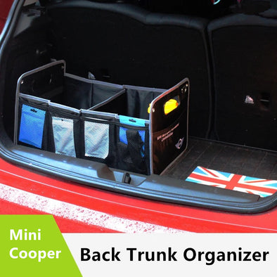 Mini Cooper Trunk Organizer - Black