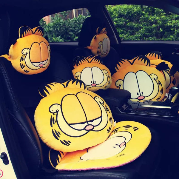 Garfield Car Plush Headrest Pillow
