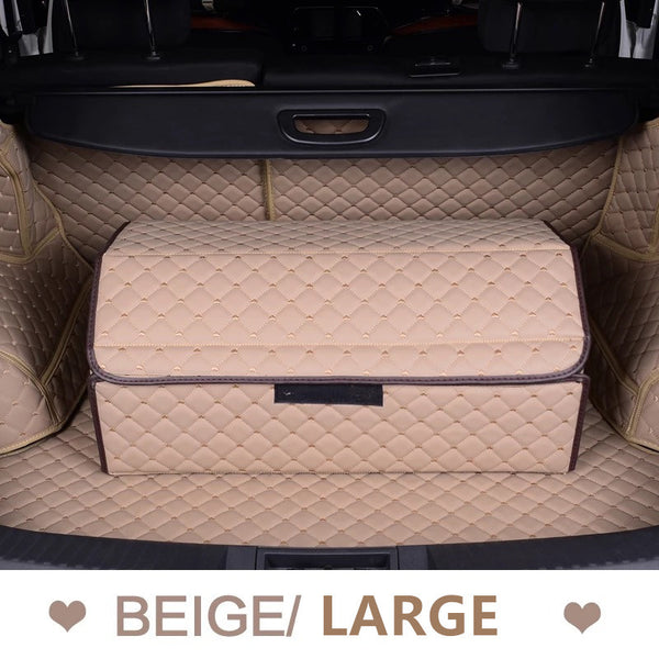 Car Trunk Organizer - Beige