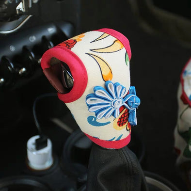 BOHO Flora Hand Brake & Gear Shift Cover