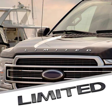LIMITED metal Chrome Front Emblem Badge For Ford F150