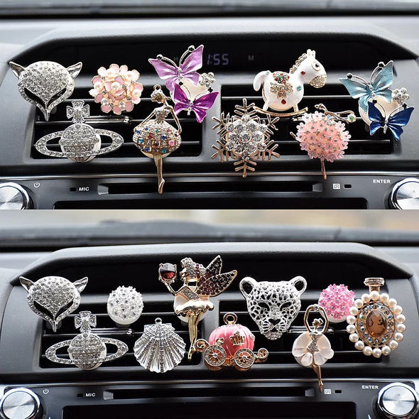 New Arrival Bling Your Ride-Rhinestone Car Air Vent Bling Decorations