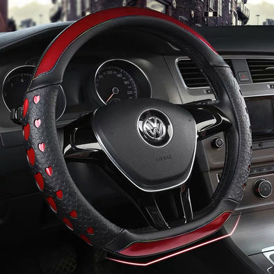 D-Shaped Steering wheel cover for Hyundai and VW volswagen