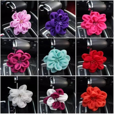 Multicolor Rosa for Car Gear Shift, Steering wheel, Grab Handle, or Handbrake DIY Decoration