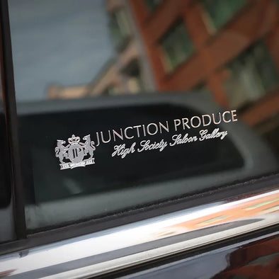 Junction Produce 3D Metal Car Decal