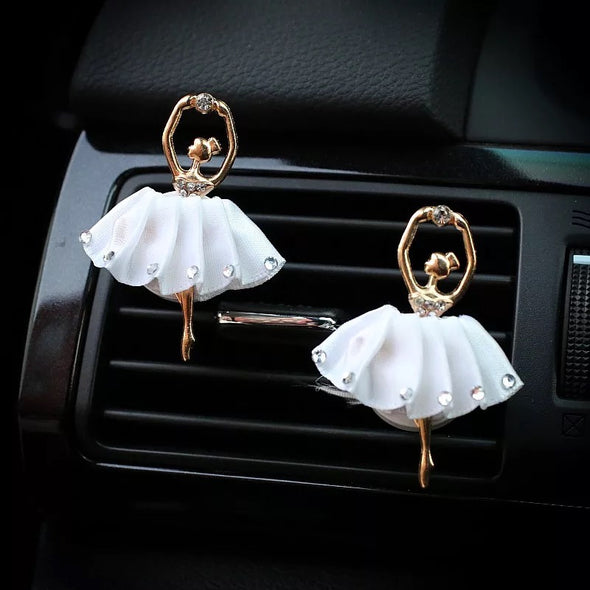 Bling Ballerina Car Air Vent Mounted Decoration in three colors