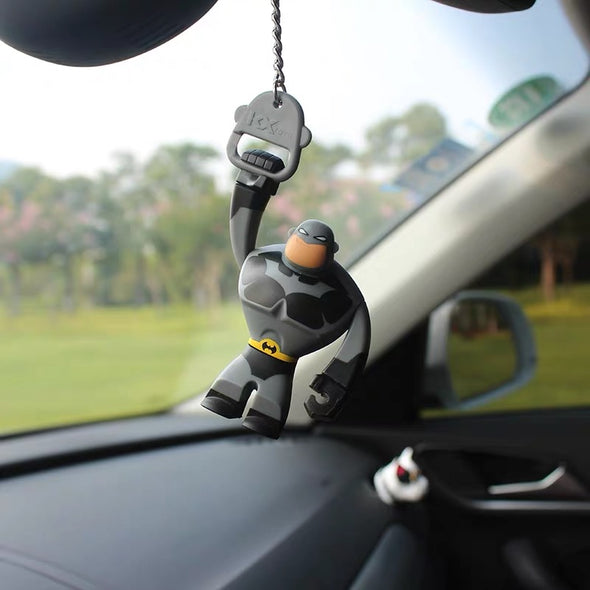 Batman Inspired Superhero Car Mirror Hanging Pendant Charm