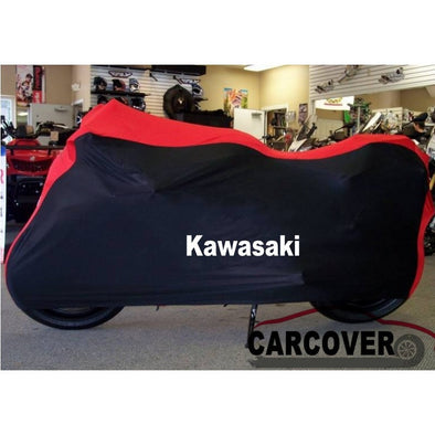 KAWASAKI Waterproof Motorcycle Cover Dust Off Outdoor cover for Snow