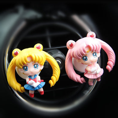 Sailor Moon Princess Tsukino Usagi Car Air Vent Decoration with Freshener DIY clip
