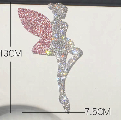 Tinkerbell Bling stickers Decal (a pair)