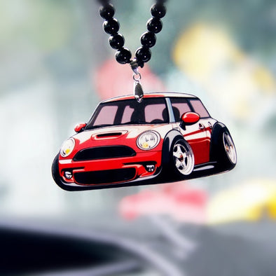 Mini Cooper Ornament For Rearview Mirror