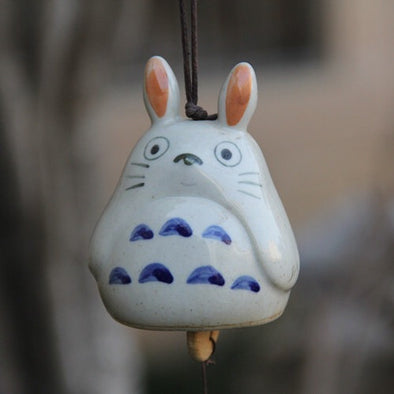 Totoro Car Mirror Ornaments- Fine China Windbell Pendant Charm