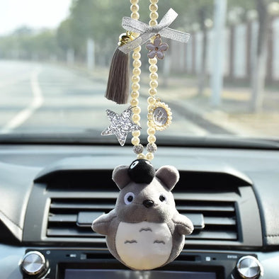 Totoro Car Mirror Ornaments- Rearview Pendant Charm
