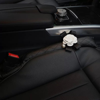 Seat Gap Filler  with Bling Camellia