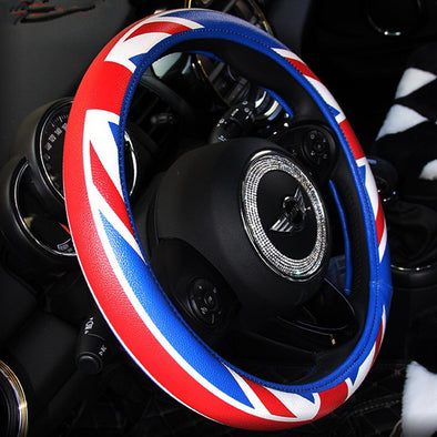 Jack Union Steering wheel cover - Great for Mini cooper Countryman