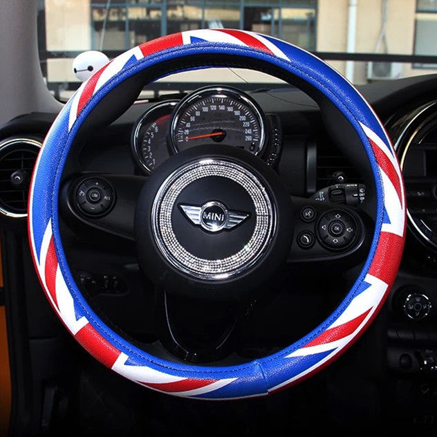 Jack Union Steering Wheel Cover Great For Mini Cooper
