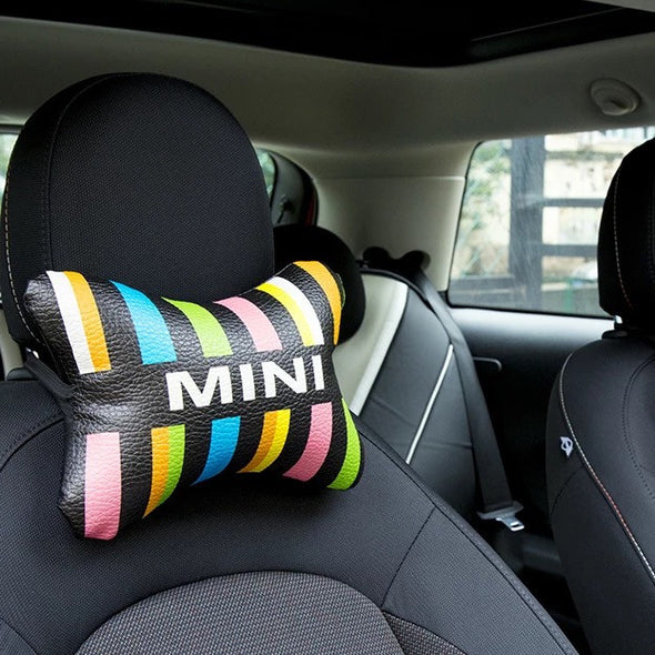 MINI Cooper Bone Shaped Car Headrest Pillow