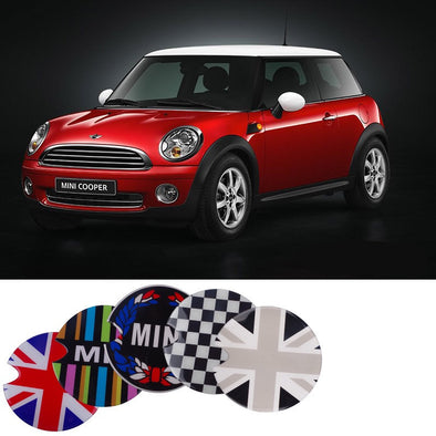 Mini Cooper Crystal EVA Glowing Decal For Gas Cap Cover