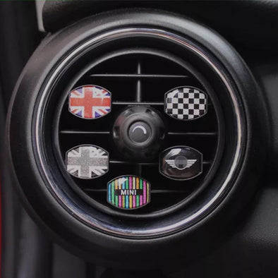 Bling Your Ride-Rhinestone Crystal Air Vent Decoration For Mini Cooper - Carsoda - 1