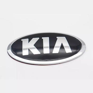 KIA Metal Chrome Logo Emblem Badge Symbol Decoration