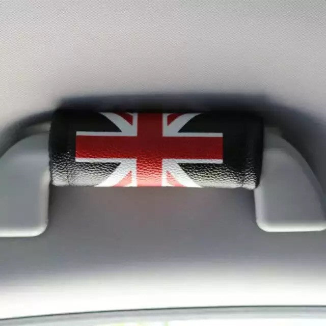 UK Jack Union British Flag Grab Handle Cover - Carsoda