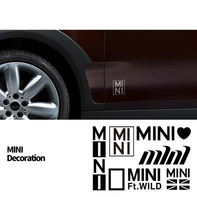 1pc Cute Mini Cooper Countryman Customized Decal Stickers- Cute and unique only availabe at carsoda.com