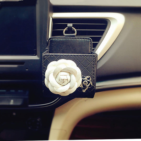 Flower Car Air Vent Sunglasses cell phone holder - Carsoda