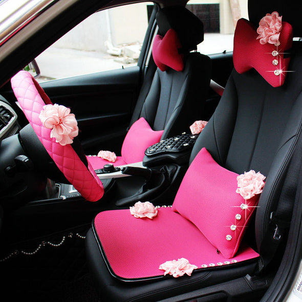 Pink Car Seat Covers - Carsoda - 1