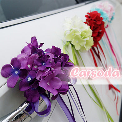 Wedding Car Decoration- Endless summer for Limousine Door Side - Carsoda - 1