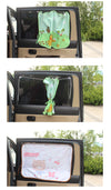 Car Window Shades - Owl UV Curtains for Car - Carsoda - 4