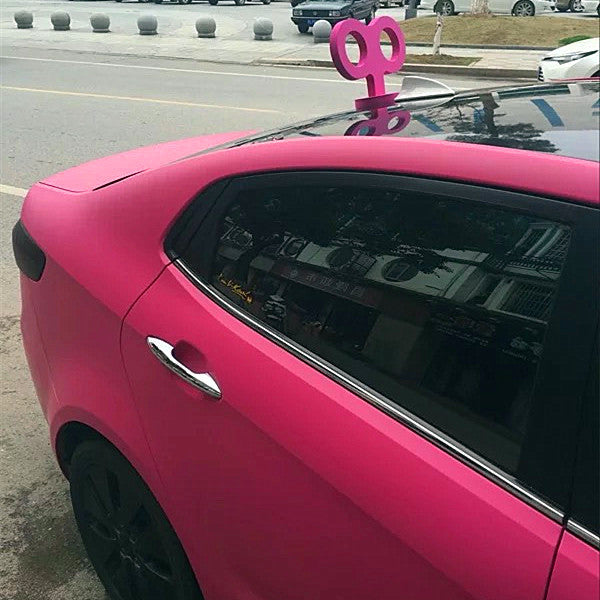 Windup Key For Cars - Hot Pink