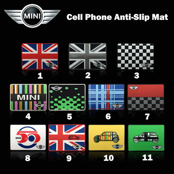 Car Dashboard Anti-slip Mat Mobile Phone Holder for Mini Cooper/Beetles - Carsoda - 1