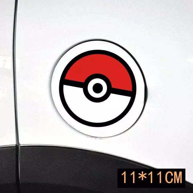 Pokemon Car Decal - Pokeball great for Mini Beetles - Carsoda - 1