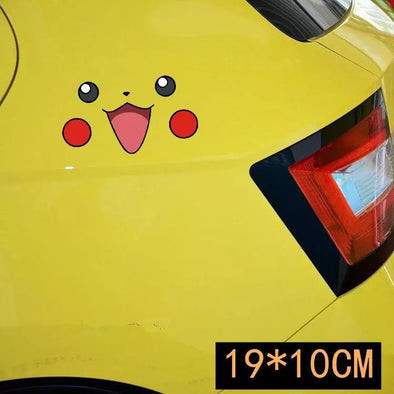 LOL Pikachu Pokemon Car Decal Sticker - Carsoda