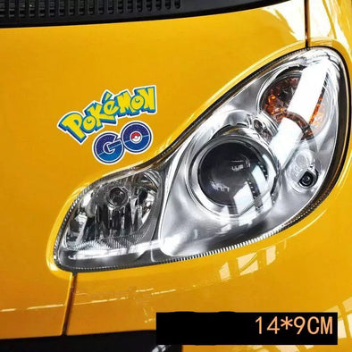 Pokemon Go Logo Car Sticker Decal - Carsoda