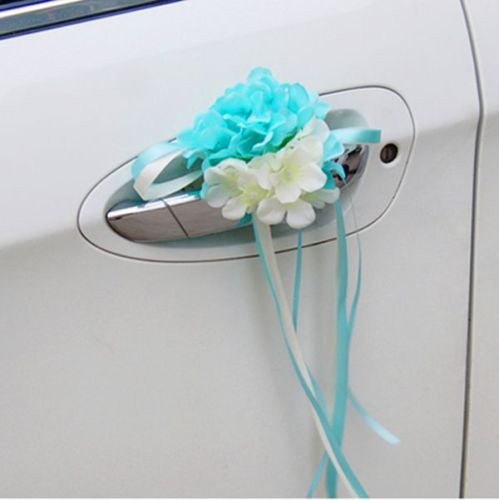 Wedding Car Decoration- Endless summer for Limousine Door Side - Carsoda - 4