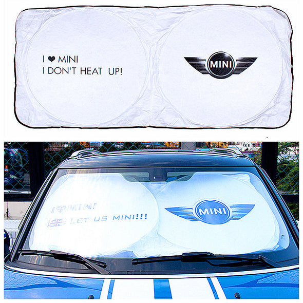 Mini LOGO Cooper/Countryman Windshield UV Sunshade - Carsoda - 1