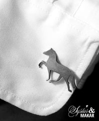 Cuff links - Icelandic horse