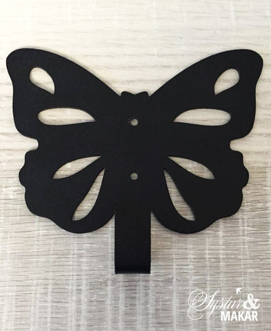 Butterfly Hanger black