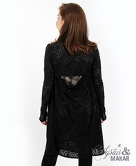 Flugsa black lace