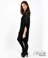 Gima black sequin