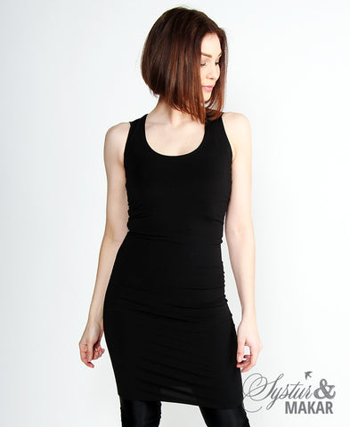 Hlýri dress black