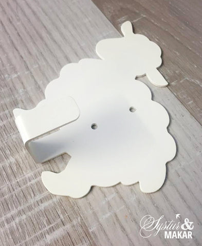 Sheep Hanger white
