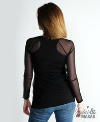 Laski net - black