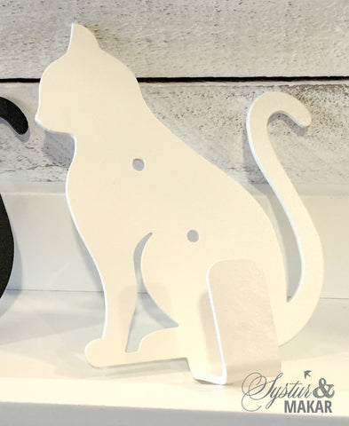 Cat Hanger white