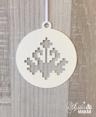 Icelandic lily ornament