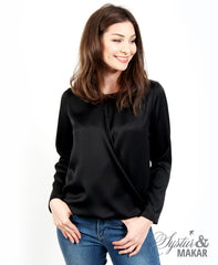 Emma shirt black