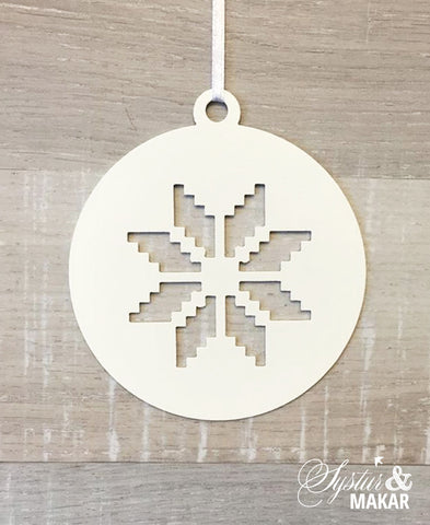 Icelandic pattern ornament